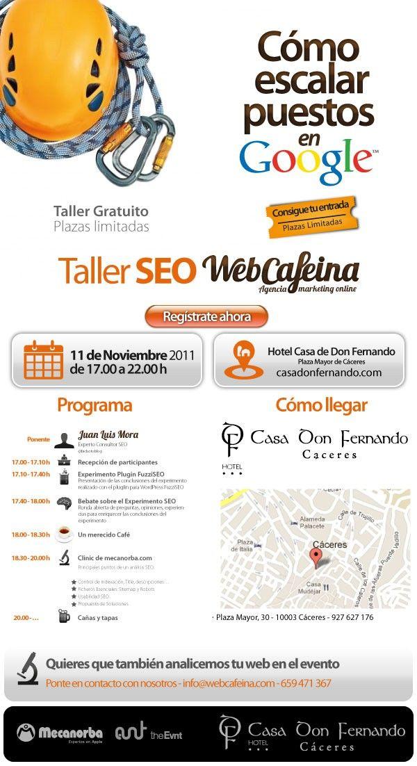 Taller SEO Cáceres