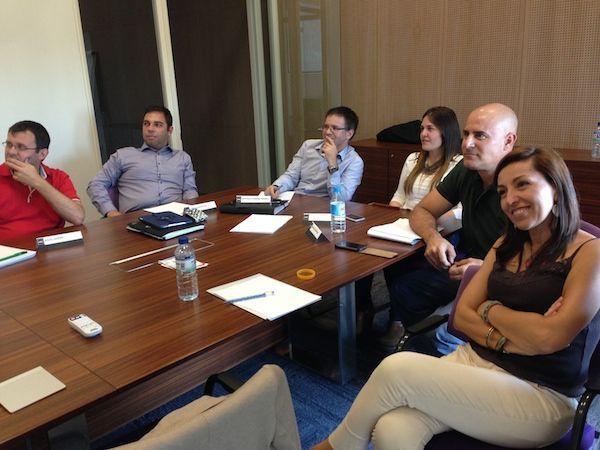 Alumnos en las clases del Master MBA en ITAE