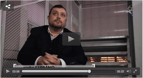 Entrevista en Canal extremadura a Nacho Serrano